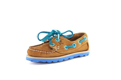Zapatos Nauticos Mocasines Peskdores Niños Honeyblue Hbk002