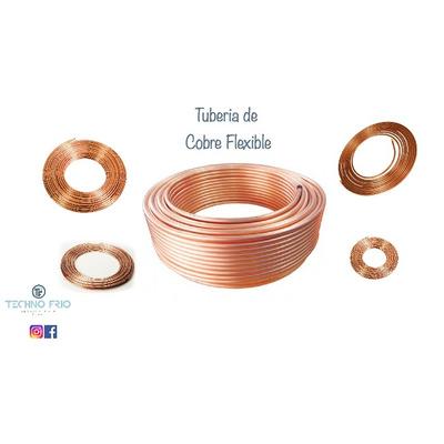 Tuberia de cobre flexible 3 8 rollo bs - Tuberia cobre precio ...