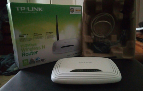 Tplink Wireless Router 1 Antena - 150mbps