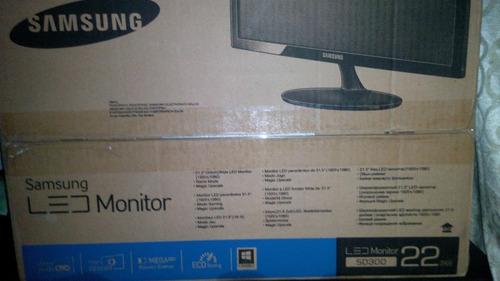 Samsung Led Monitor 22 Sd300
