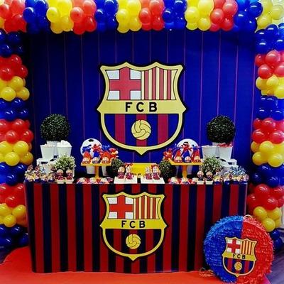 Figuras anime decoracion infantil fc barcelona futbol real - Decoracion infantil barcelona ...