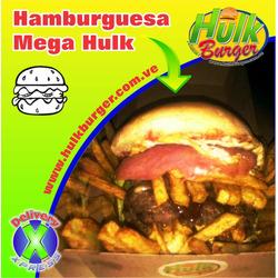 Hamburguesa Mega Hulk
