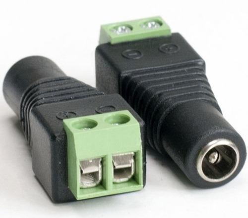 Conector Corriente 12v Plug Hembra Camara Cctv 2.1