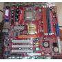 Tarjeta Madre P23g Pc Chips Con Fancooler Y Procesador | CARLOSROBLES2006