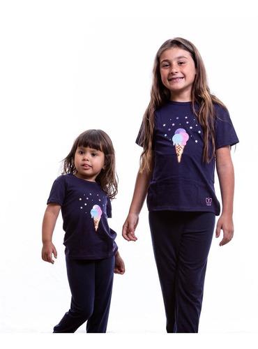 Pijamas Para Niñas Conjunto Franela Y Pantalon Paulinas