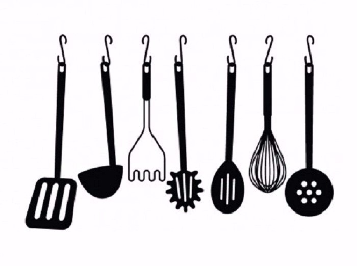 Juego Set Utensilio 6 Pzas Profesional Chef Cocina Cubiertos ...